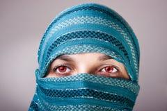 eyes красный цвет Стоковое Изображение RF