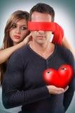 eyes сердце его s Стоковые Изображения