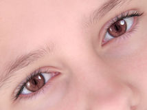 Eyes. A pair of eyes Royalty Free Stock Photography