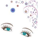 Eyes. Stock Photo