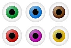 Eyes royalty free illustration