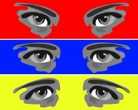 Eyes vector illustration