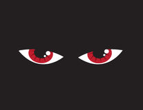 Eyes Angry Red Royalty Free Stock Photos