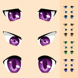 Eyes of animals stock illustration