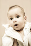 Eyes baby's. Clean children's eyes gentle nice Royalty Free Stock Images