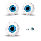 Eyes background Royalty Free Stock Photo