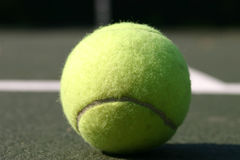 Eyes on the ball Royalty Free Stock Photography