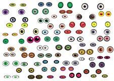 Eyes Ball Set Royalty Free Stock Photo