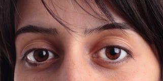 Eyes close up Stock Photo