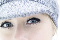 Eyes close up Royalty Free Stock Photo