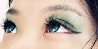 Eyes closeup Stock Image