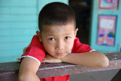 Eyes contact of Child Royalty Free Stock Images