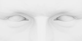 Eyes 3d Stock Image