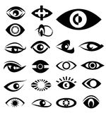 Eyes designs  Stock Image