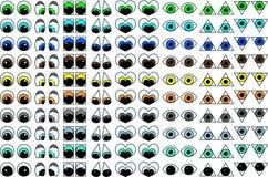 Eyes.eps Photo stock