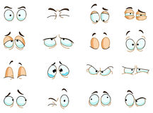 Free Eyes Expressions Royalty Free Stock Image - 24058706