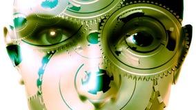 Eyes & Face - Gears Turning (Blinking)