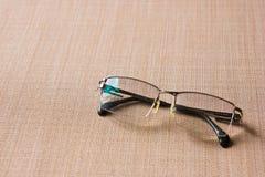Eyes glasses. With titanium rims for elderly Stock Image