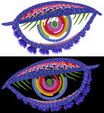 Eyes of God Royalty Free Stock Photo