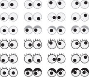 Eyes Googly Royalty Free Stock Image