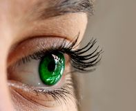 Eyes, Green, Close, Eyelashes