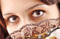 eyes honung royaltyfri bild