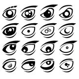 Eyes icon royalty free stock images