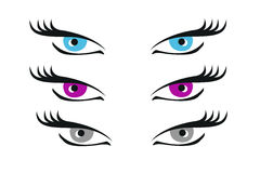 Eyes Illustration Stock Images