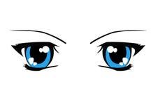 eyes illustrationen Arkivfoton