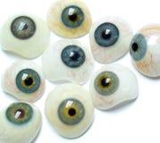 Eyes looking stock image
