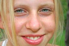 Eyes los dientes Foto de archivo libre de regalías