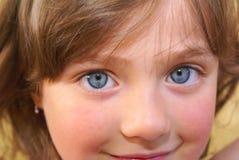 Eyes meninas. imagens de stock