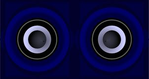 The eyes of music Royalty Free Stock Images
