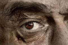 Eyes of an old man Royalty Free Stock Images