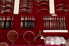 Eyes optics box Royalty Free Stock Photo