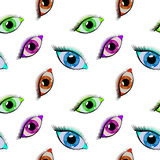 Eyes pattern Stock Photo