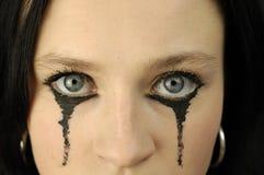 eyes s-kvinnan royaltyfri bild