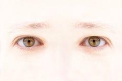 eyes s-kvinnan Royaltyfria Foton