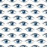 Eyes seamless pattern Stock Image