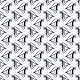 Eyes seamless pattern Stock Photography