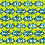 Eyes seamless texture Royalty Free Stock Photography