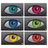 Eyes set Royalty Free Stock Images