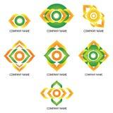 Eyes - Company logos Royalty Free Stock Photos
