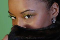 eyes sexigt Fotografering för Bildbyråer
