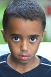 Eyes Speak. A beautiful portrait of a candid Hispanic boy Royalty Free Stock Photos