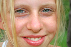Eyes teeth Royalty Free Stock Photo
