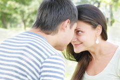 Eyes to eyes Royalty Free Stock Photo