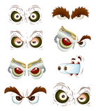 Eyes Vectors Royalty Free Stock Photography