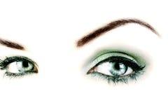 eyes vibrerande royaltyfria foton