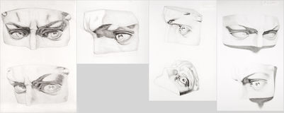 Eyes vistas diferentes Imagem de Stock Royalty Free